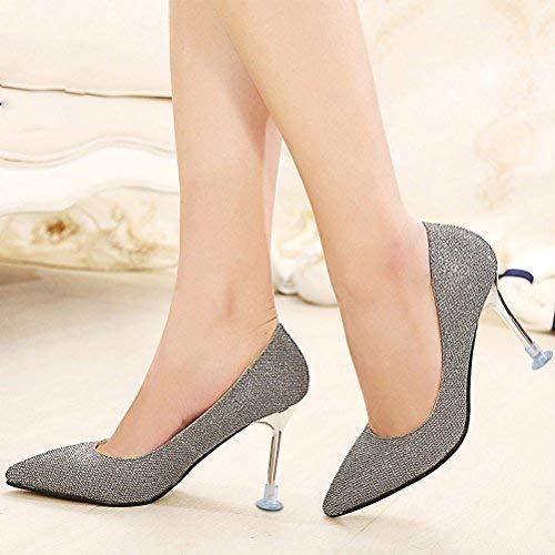 Haut Heel Stoppers Chaussures Formelles Stiletto Protections Uraqt Femmes Couvre Courses Protectors Occasions Pour Aaa High Couvertures Transparent Mariages Talon dqwvfY