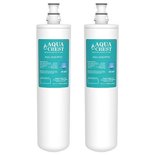 2 Pack Aquacrest 3us Pf01 Replacement For Filtrete