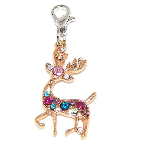 Reindeer Tone Gold (Jewelry Monster Clip-on Gold Tone