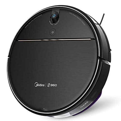 Wiping The Ground to Comprehensive Services Sweeping Robot Vacuum Cleaner Cleaning Robot Smart Home Integrated Mopping Machine Vacuums (Color : Black, Size : 35 cm|14 inch)