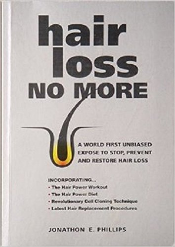 Hair Loss No More: HOW TO STOP YOUR HAIR LOSS NOW!! And Strengthen, Restore And Revitalize Thinning Hair Naturally