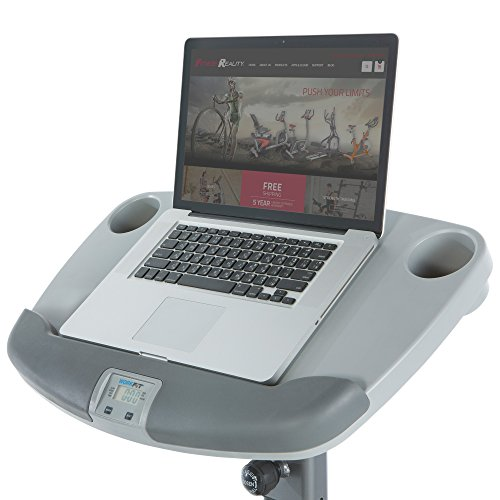 Exerpeutic WORKFIT 1000 Desk Station Folding Semi Recumbent Exercise Bike