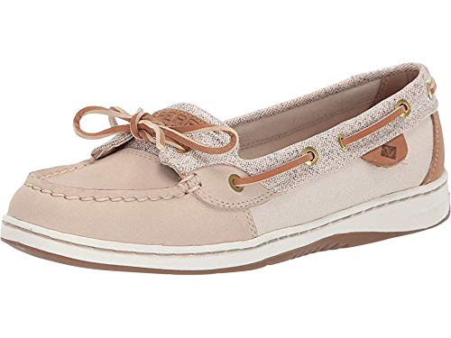 SPERRY Women's Angelfish Confetti Oat 6.5 M - System Lacing Eyelet