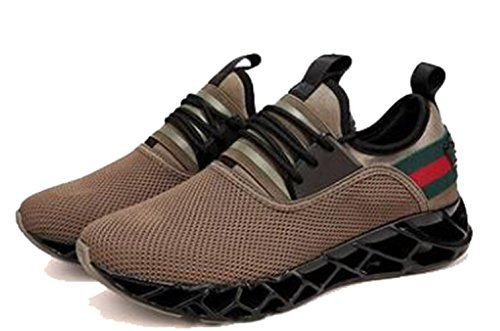 L Running Respirant Sneakers Sport Loisir LFEU Pour Homme Sport Chaussure Paresseux Fitness Course Chaussure de Jogging UxxFqBZ