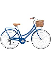 "SPARTAN 700c Platinum City Bicycle Navy, 28"", SP-3129-M"