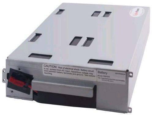 Battery Cartridge Maintenance Free Lead - CyberPower RB1270X4A Replacement Battery Cartridge, Maintenance-Free, User Installable