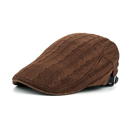 Invierno D Pato GLLH de E Sombrero Sombreros Bailey Sombrero qin Trenzado e de Sombrero de Punto Casual Hombre hat 7qqwarxIz