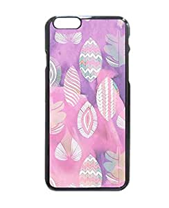 Geometric Purple Leaves Hard Customized Case Cover , iphone 6 4.7 Case Cover, Protection Quique Cover, Perfect fit, Show your own personalized phone Case for iphone 6 4.7