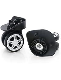 360 Swivel Luggage Mute Wheel Suitcase Replacement Repair Wheels 053(Couple Wheel)