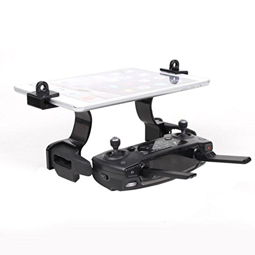 For DJI Mavic Pro/DJI Spark,GBSELL Remote Control Extended Support Mount Holder Bracket (Black)