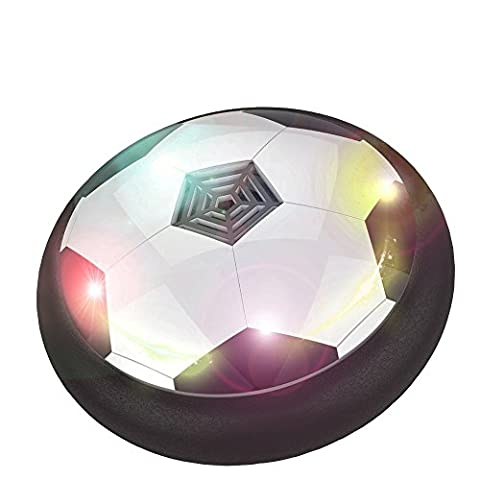 YGJ Air Power Hover Ball Kid Toys Boy and Girl Gifts football Hockey Soccer 3-in-1 Pneumatic Suspension Floating with Foam - Power Air Hockey