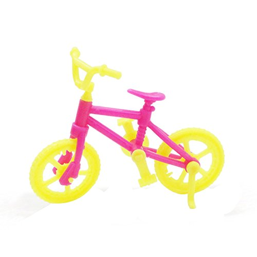 AckfulExquisite Doll Bicycle Cute Pretend Play Mini Bike Toy for L.O.L. Surprise! Doll
