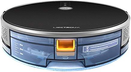 LIECTROUX C30B Smart Robot Aspirateur 3000Pa Aspiration 2D Carte Navigation avec Mémoire WiFi Application Réservoir D\'eau Électrique Moteur Brushless