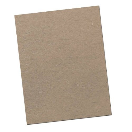 Chipboard - Cardboard Medium Weight Chipboard Sheets - 25 Per Pack. (8.5 x 11)