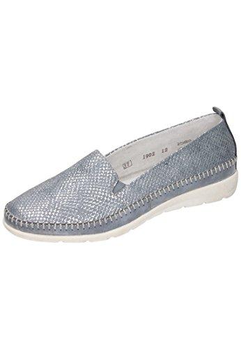 Mocassins Fango Silver D1902 12 Jeans Unique Porzellan Remonte Taille Femme w4qIpPx