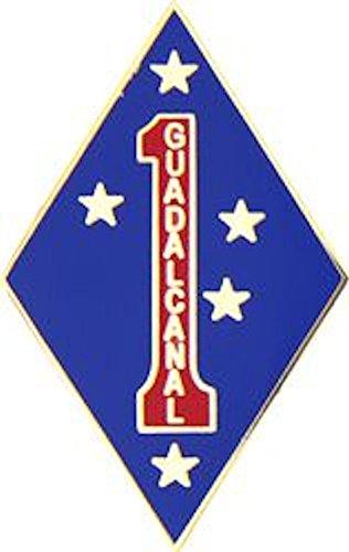 1st Marine Division Small Hat Pin (Marine Hat Division)