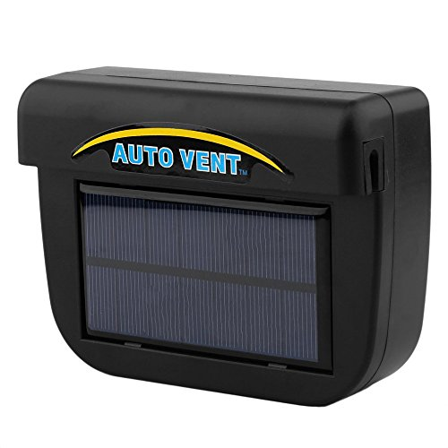 ABS Solar Powered Car Window Windshield Auto Air Vent Cooling Fan System Cooler by Baiouda