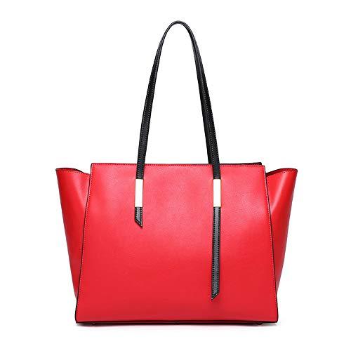 Portafoglio a colore nero Rosso Borse Doll Xuanbao diagonale in spalla spalla portatile Clutch singola signore a capacità Package pelle tote Clutch le grande per x0wBBTnq15