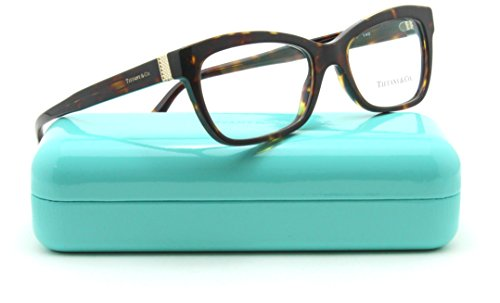 Discount Eyeglass Frames - Tiffany & Co. TF 2167 Women Rectangular Eyeglasses RX - able Frame 8015, 54mm