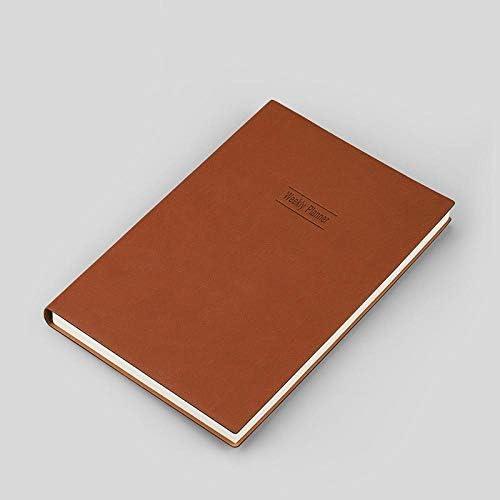 2020 Tagebücher Planen Sie diesen Zeitplan dieses 2020 Notizbuch-A5 braun 2020 Zeitplan