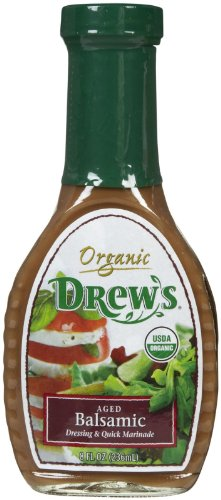 Drew's All Natural Organic Salad Dressing, Aged Balsamic, 8 Ounce (Drews Italian Dressing compare prices)