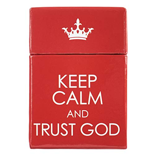 Keep Calm and Trust God Cards - A Box of Blessings ()