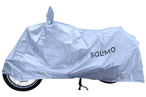 Amazon Brand – Solimo Royal Enfield UV Protection & Dustproof Bike Cover (Silver)