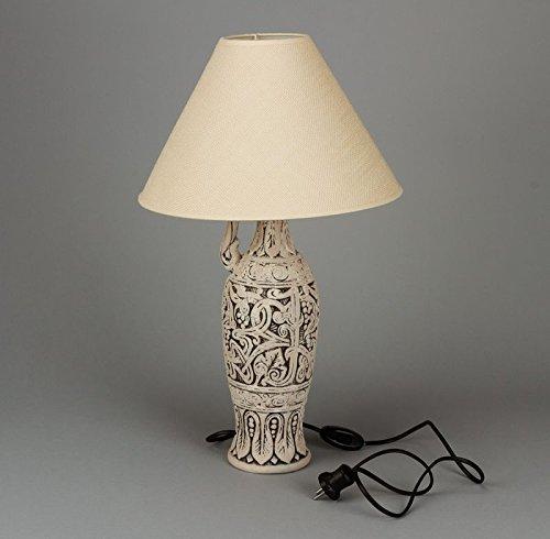 Clay Handmade Table Lamp