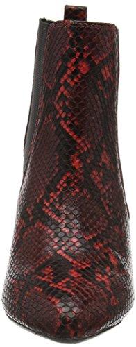 Lotus Chika, Botines para Mujer Rojo - Red (Red Print)