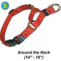 Cetacea Soft Martingale Collar with Quick Release, Small, Step 5
