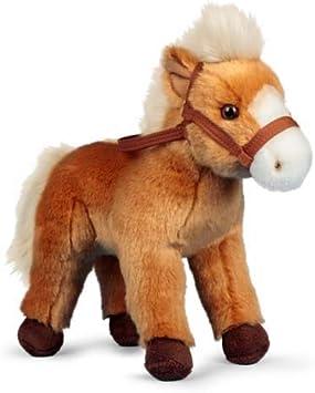 Animigos World of Nature 24cm Plush Horse with Bridle Soft Toy:  Amazon.co.uk: Toys & Games
