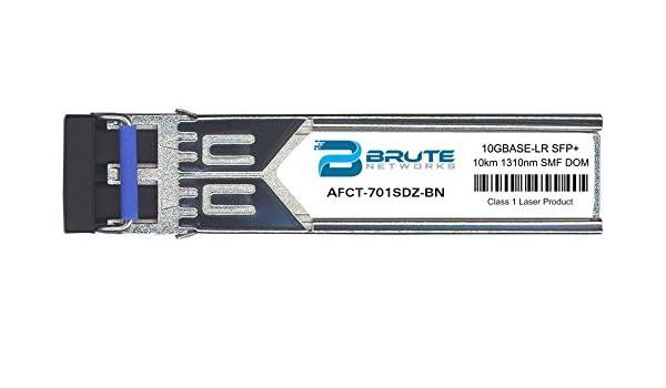 4631 1310nm 10km DOM Avago AFCT-701SDZ  Compatible 1000BASE-LX 10GBASE-LR SFP
