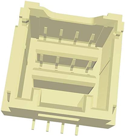 Surface Mount, Wire-To-Board Connector 1.5 mm Receptacle 503154-0890 8 Contacts Pack of 20 CLIK-Mate 503154 Series