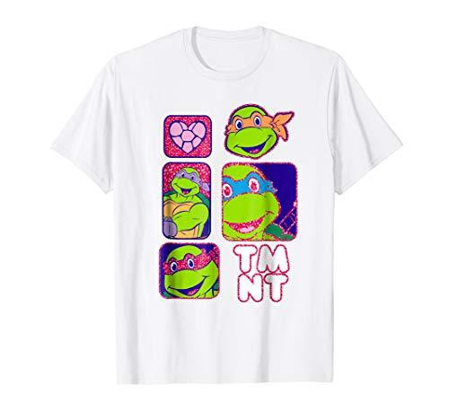 Teenage Mutant Ninja Turtles TMNT Box Portraits T-Shirt -