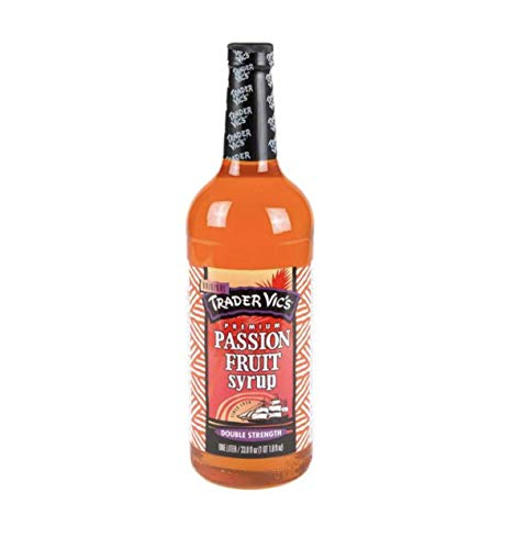 Trader Vic's PASSION FRUIT 33.8 Ounces (Pack of ()