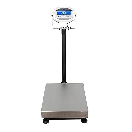 ZNND Básculas Electrónicas, Botón De Alta Precisión Pesaje De 200 Kg Contabilidad De Plataforma Acumulativa