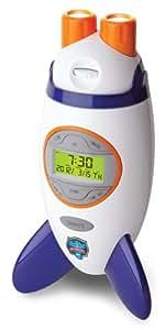Blue Hat Kids Projection Alarm Clock, Blue