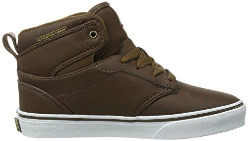 Vans Y Atwood Hi (Mte) Brown/Cof - - Unisex bebé Brown/Coffee