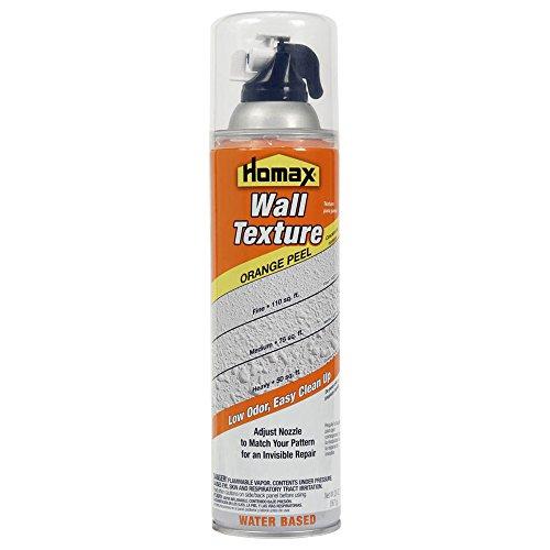 Wall Texture 20 oz, Orange Peel, Water Based Aerosol Wall - Orange Peel Homax