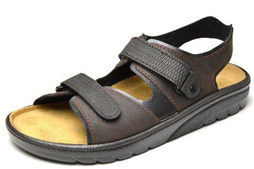 Algemare , Sandales pour homme marron marron