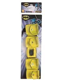 Rubies Costume Co Yellow Batman Utility Belt with Bat Gear