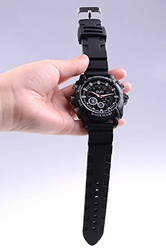 8Gb Water Resistant Spy Watch Camera - 5