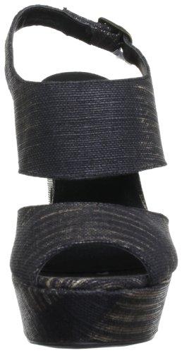 Des Textile Noir L'infini Talons Cheville Femmes De Sangle Semelles En Bronze pqqTZ