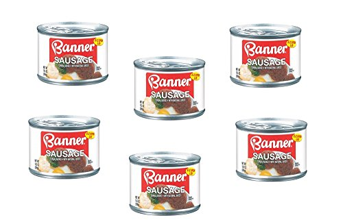 Banner W/Natural Juices Sausage 10.5 Oz Can (Pack of 6)