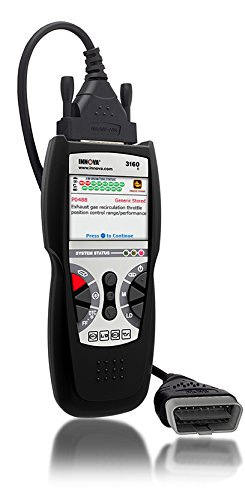 Innova 3160e Code Reader / Scan Tool with ABS, SRS, and Live Data for OBD2 Vehicles