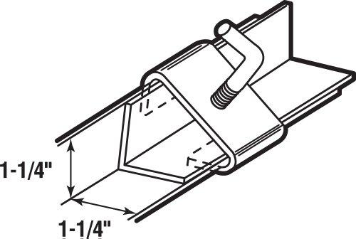 Amazoncom PrimeLine Products U 9006 Bed Frame Rail Clamp 114