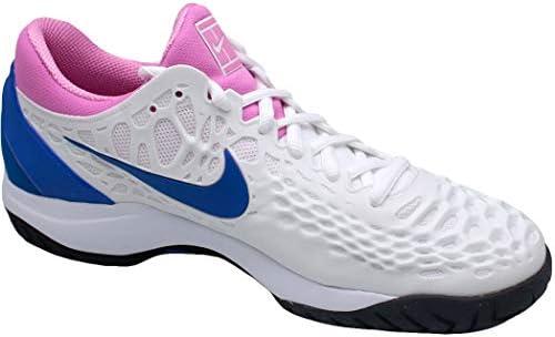 (NIKE) テニスシューズ エア ズーム ケージ 3 HC 918193-107 107:ホワイト 27.0