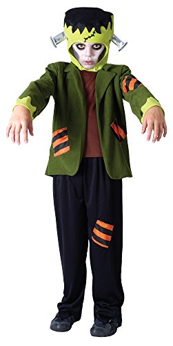 Bristol Novelty CC768 Monster Frank Costume, Black, Medium, 122 - 134 cm, Approx Age 5 - 7 Years, Monster Frank Costume -