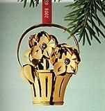 Georg Jensen Golden Christmas Ornament / Mobile 2008 - Christmas Rose