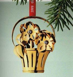(Georg Jensen Christmas Ornament 2008 - X-mas Rose)